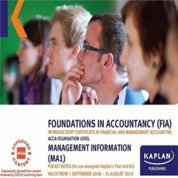 MA1 - MANAGEMENT INFORMATION - POCKET NOTES  Paperback / softback 2018