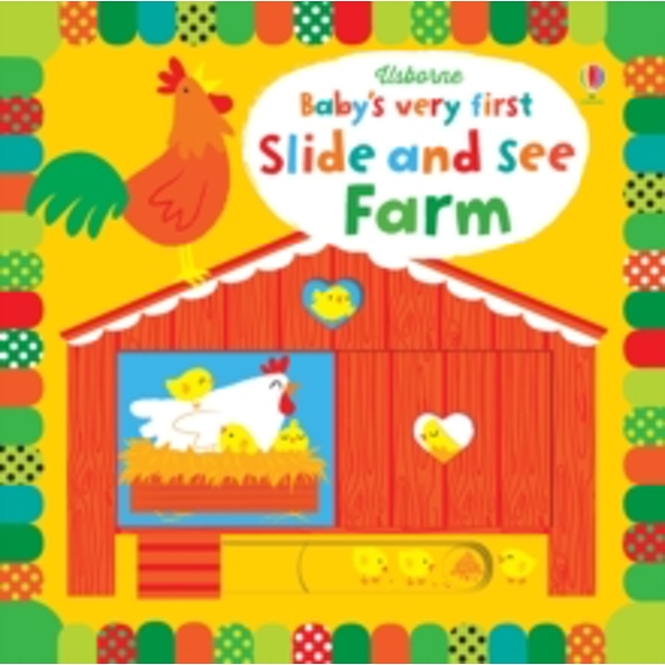 Baby's Very First Slide and See Farm by Fiona Watt (Board book, 2015)