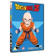 Dragon Ball Z Season 1 Part 5 Episodes 29-35 DVD