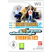 Family Trainer Extreme Challenge Solus Wii Game