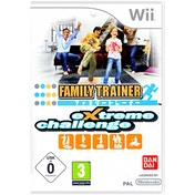 Family Trainer Extreme Challenge [Solus] Wii Game