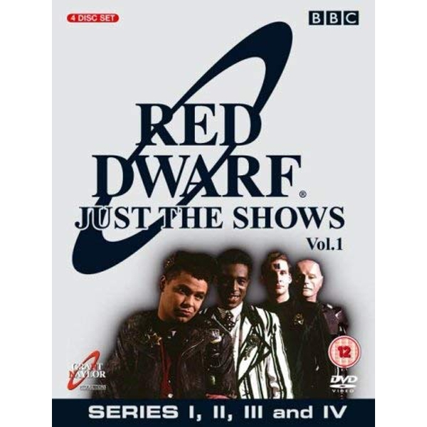Red Dwarf: Just The Shows Vol. 1 Series 1-4 DVD