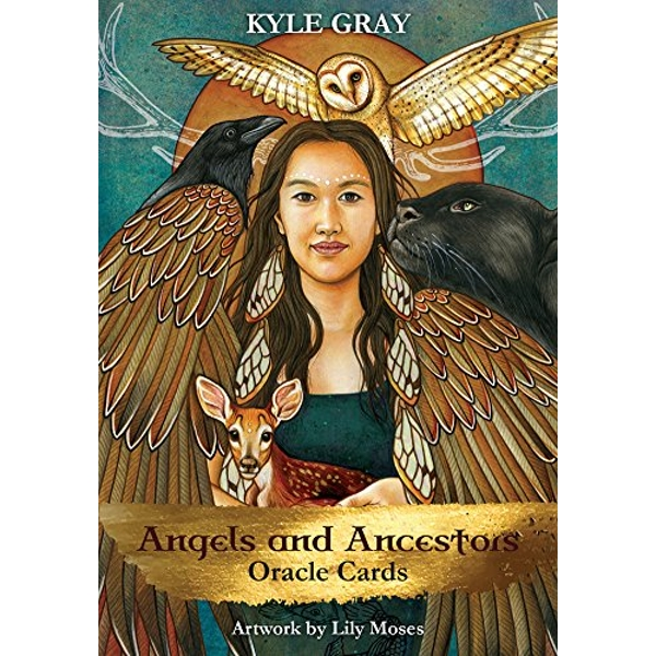 Angels and Ancestors Oracle Cards A 55-Card Deck and Guidebook Cards 2018