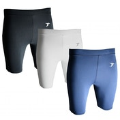 """Precision Essential Base-Layer Shorts White - Large 36-38"""""""