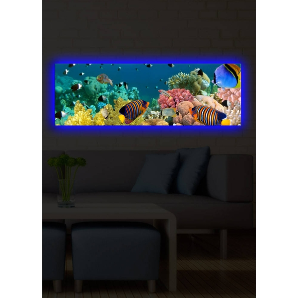 3090DACT-13 Multicolor Decorative Led Lighted Canvas Painting