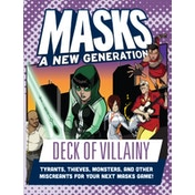 Masks Game - Deck of Influence