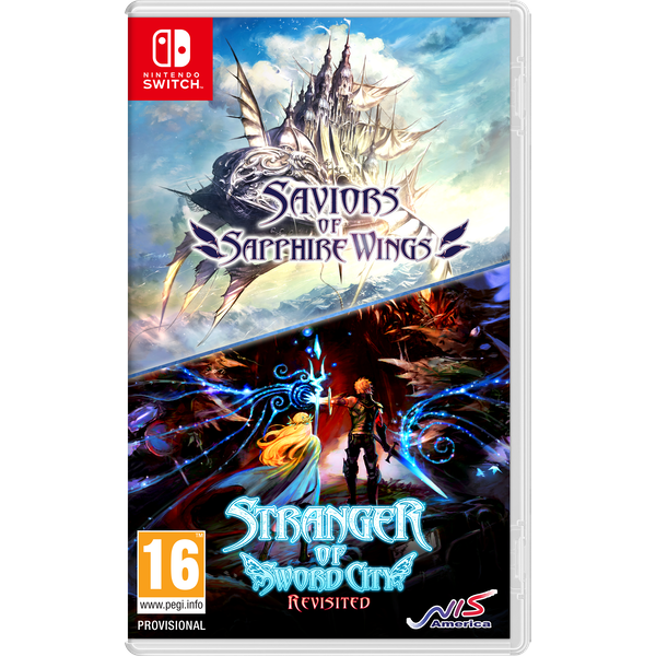 Saviors of Sapphire Wings/ Stranger of Sword City Revisited Nintendo Switch Game