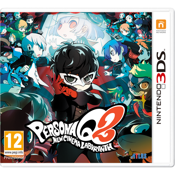 Persona Q2 New Cinema Labyrinth Launch Edition 3DS Game - Image 1