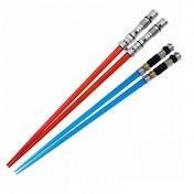 Darth Maul Vs Obi Wan Kenobi (Star Wars) Chopstick Battle Set