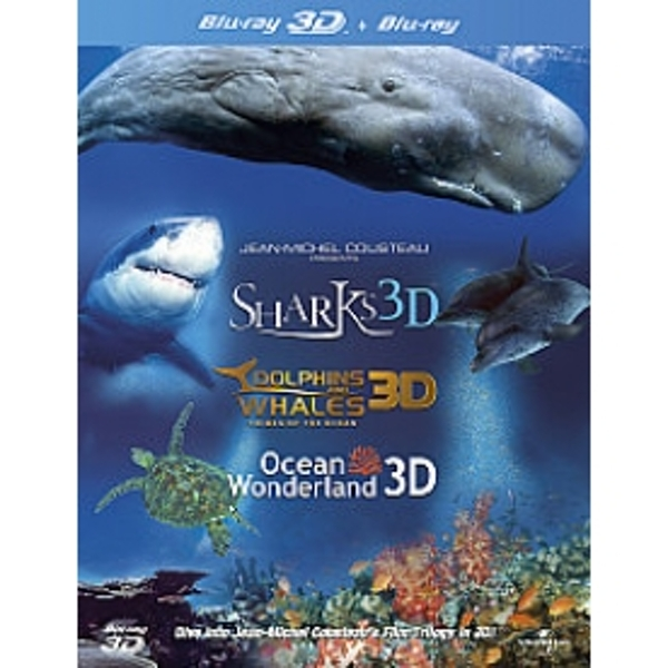 Jean-Michel Cousteaus Film Trilogy in 3D Blu-Ray