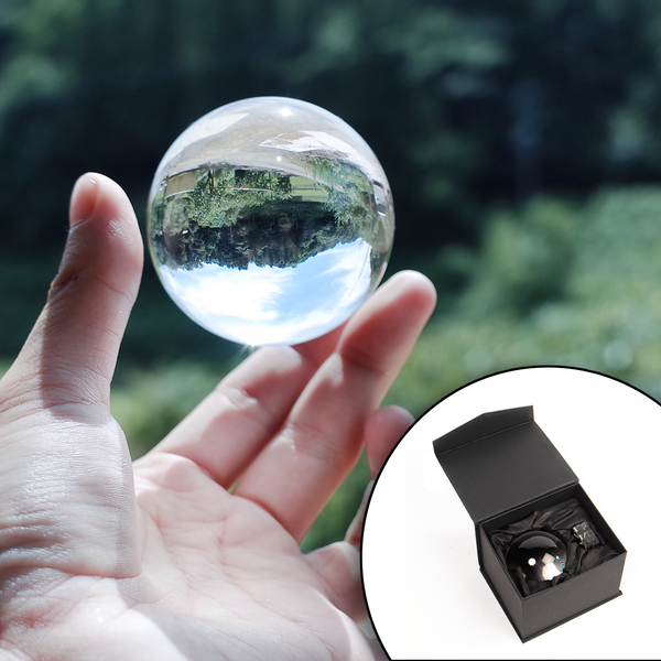 K9 Clear Crystal Ball For Photography 60mm   M&W