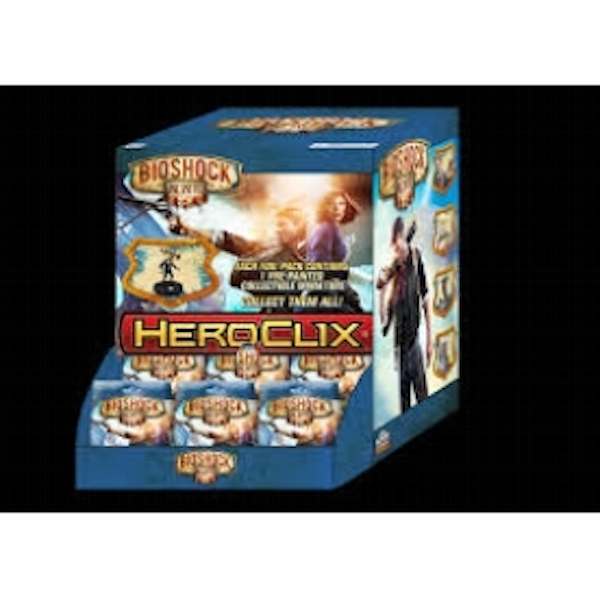 BioShock Infinite HeroClix 24 Gravity Feed Display Board Game