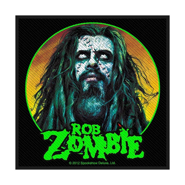 Rob Zombie - Zombie Face Standard Patch