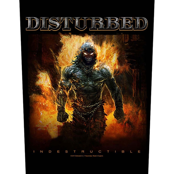 Disturbed - Indestructible Back Patch