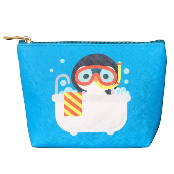 Penguin Small PVC Wash Bag