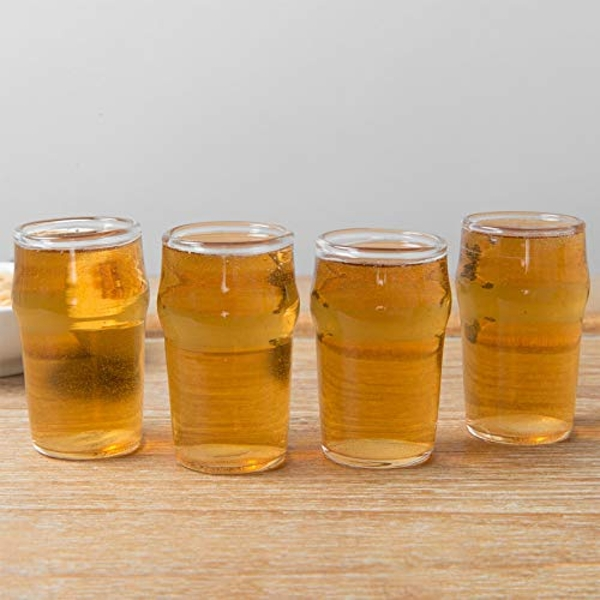 Brewmaster 4 Beer Shot Glass Set
