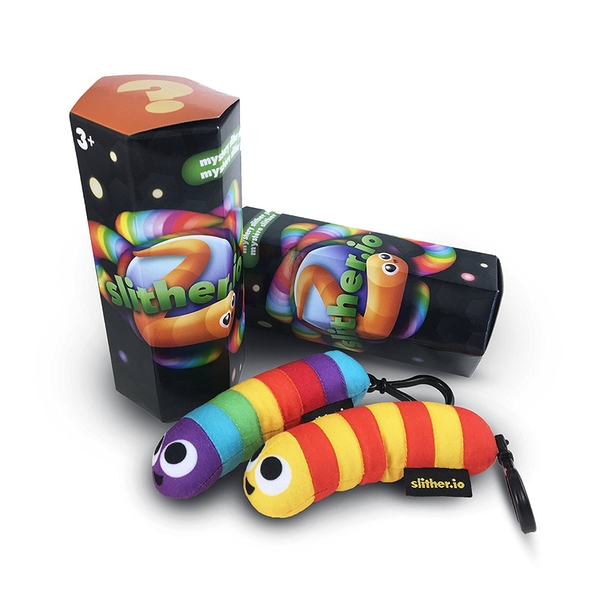 Slither.io Bendable Hanger Plush - Assorted - Image 1