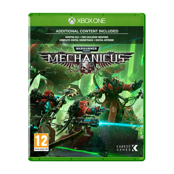 Warhammer 40,000 Mechanicus Xbox One Game - Image 1