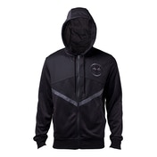 Black Panther - Logo Men's Medium Full Length Zipper Hoodie - Black