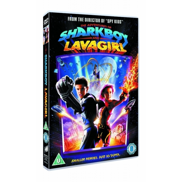 Adventures Of Shark Boy And Lava Girl DVD