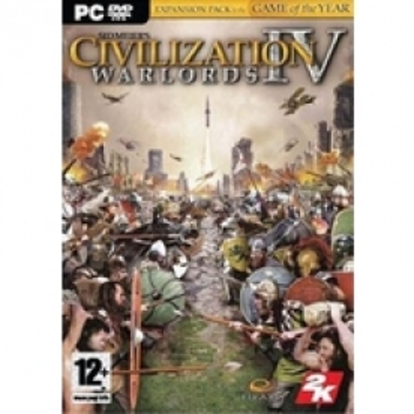 Sid Meier's Civilization IV Warlords Expansion Pack PC