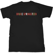 Bruce Springsteen - Logo Men's Large T-Shirt - Black