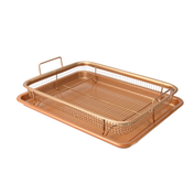 Copper Crisping Basket & Baking Tray | M&W