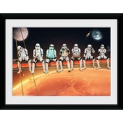 Stormtrooper Stormtroopers On A Girder Collector Print