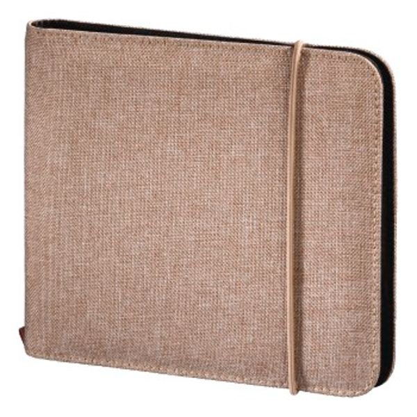 Hama Up to Fashion CD/DVD/Blu-ray Wallet 24 Sand