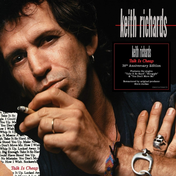 Keith Richards - Talk Is Cheap Limited Red  Vinyl