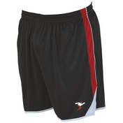 Precision Roma Shorts Junior Black/Red/Silver - S Junior 22-24""