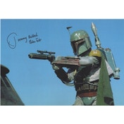 Star Wars Personally Signed 12X8 - Boba Fett - Jeremy Bullock