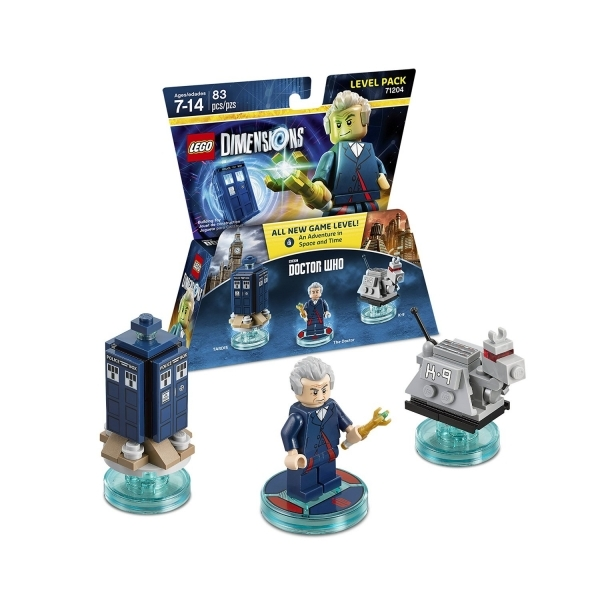 Ex-Display Doctor Who Lego Dimensions Level Pack Used - Like New