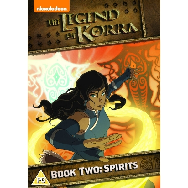 The Legend of Korra, Book Two: Spirits DVD