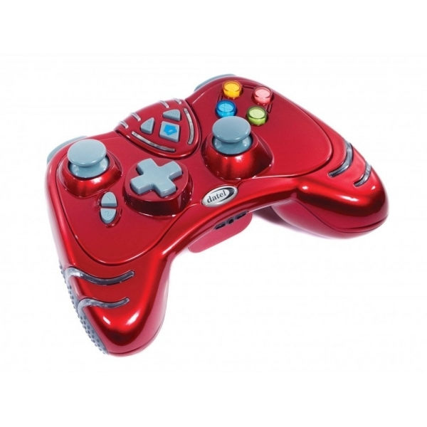 Datel Ruby Red WILDFIRE 2 Wireless Controller Xbox 360