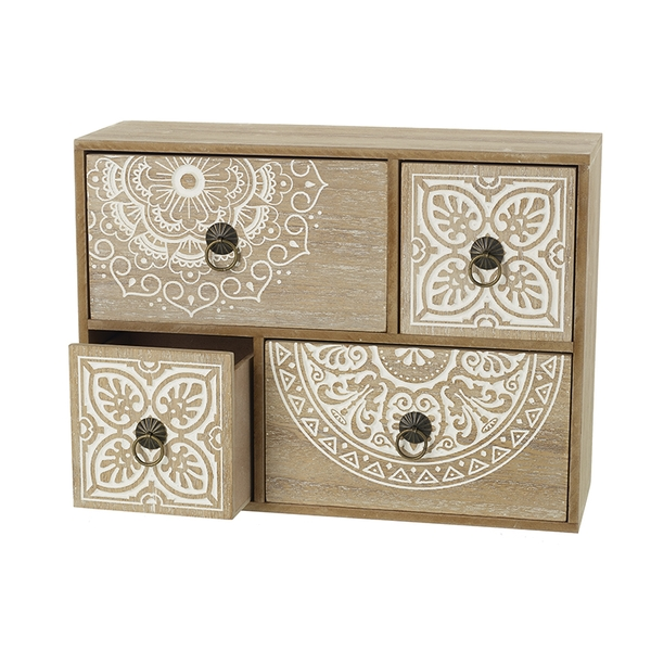 Decorative Rustic Wooden Cabinet By Heaven Sends