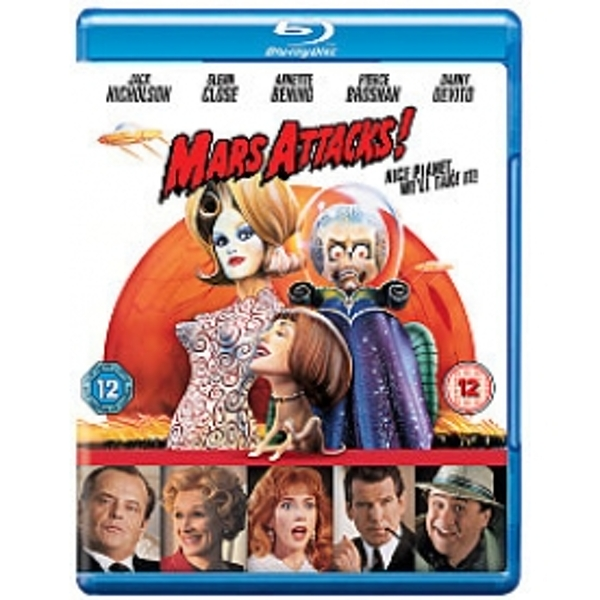 Mars Attacks! Blu-ray
