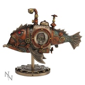 Sub Piranha Steampunk Ornament