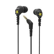 Scosche ThudBuds Black Intraaural In-ear headphone