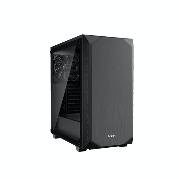Image of be quiet! Pure Base 500 Midi Tower Case - Black Tempered Glass