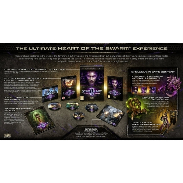 StarCraft II 2 Heart Of The Swarm Collector's Edition PC - Image 3