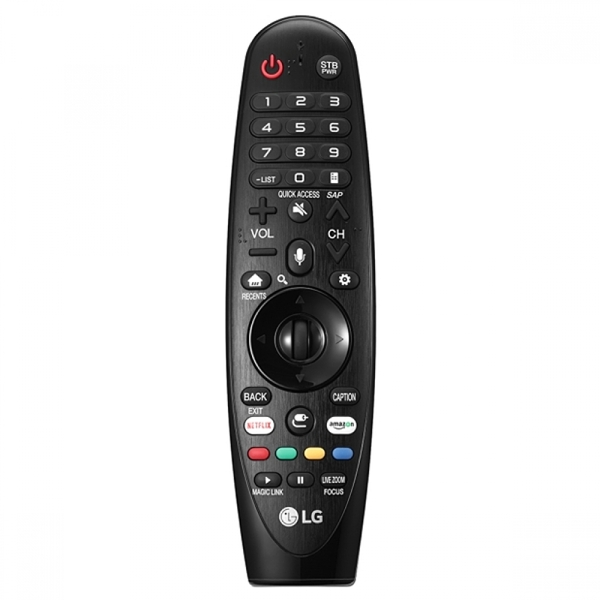 LG AN-MR650A Magic Remote Control with Voice Mate for Select 2017 Smart Televisions