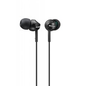 Sony MDR-EX110LP In Ear Closed Headphones - Black