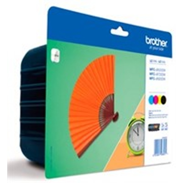 Brother LC-129XLVALBP Black,Blue,Red,Yellow ink cartridge