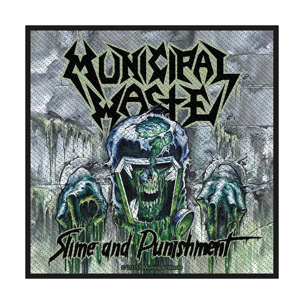 Municipal Waste - Waste Slime and Punishment Standard Patch