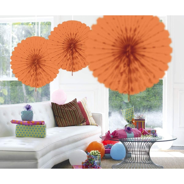 Honeycomb Fan Decoration (Salmon Pink)