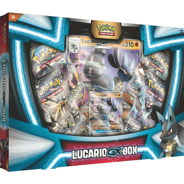 Pokemon TCG: Lucario GX Box