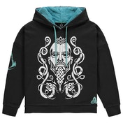 Assassin's Creed - Tribal Face Womens X-Large Sweatshirt - Black/Turquoise
