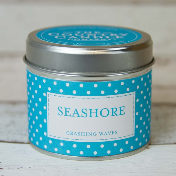 Seashore (Polka Dot Collection) Tin Candle