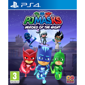 PJ Masks Heroes of the Night PS4 Game